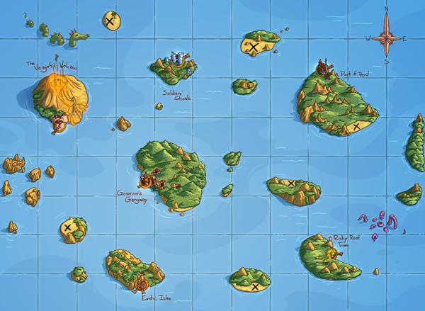 Scoundrels map