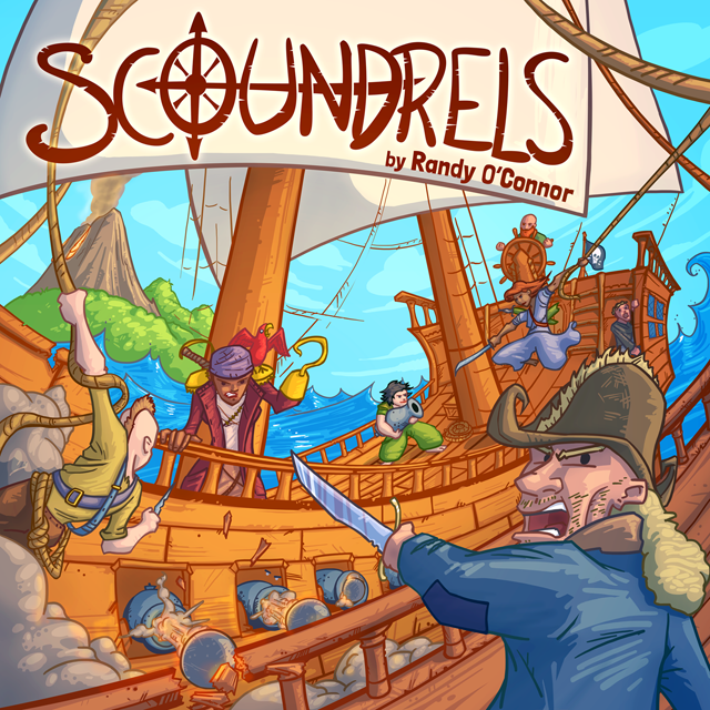 Scoundrels box art
